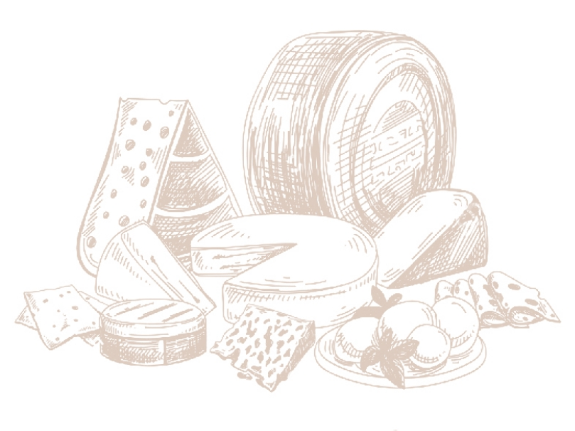 Illustration de fromages