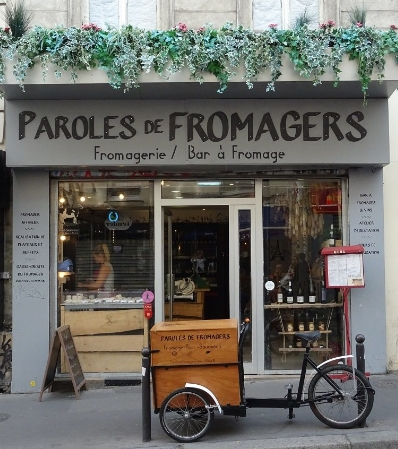 devanture magasin paroles de fromagers